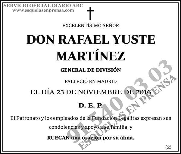 Rafael Yuste Martínez